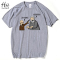 Breaking Bad Game of Thrones T Shirts Men Hodor Heisenberg Casual Man T-Shirts Cotton Swag tshirt homme Tops Hold The Door