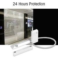 Metal Roller Shutter Long Distance Window Door Sensor detector Magnetic Contact for H6