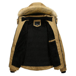 Image 5 - 2020 yeni varış sıcak kış ceket erkekler kapşonlu Casual Slim Parka erkek kış ceket