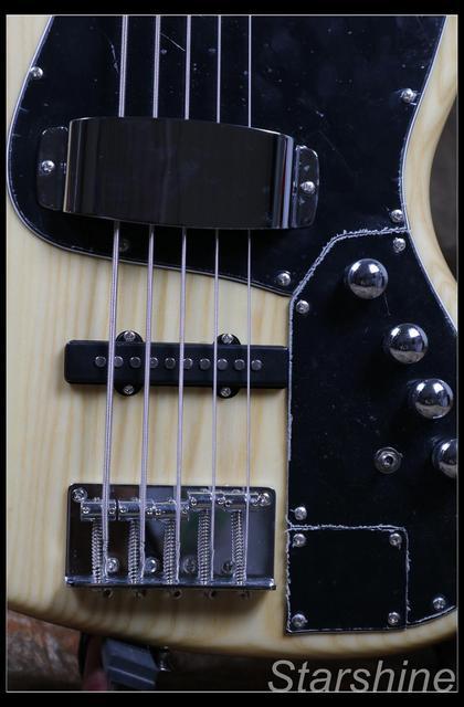 Jazz Bass 5 String Bass Guitar Z-ZV4 light ASH Body - Free Shipping  5