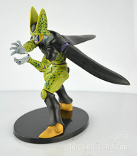 Banpresto Dragon Ball Z Complete Body Cell Action Figure The Final Battle Verison Villian Cell PVC Model Figure Toy 17CM GS039