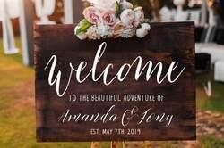 Персонализированные Добро пожаловать в наш навсегда стены переводная виниловая настенная наклейки Свадебные признаки съемный