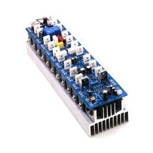 Placa poderosa montada do amplificador 1200 w/placa mono amp com dissipador de calor