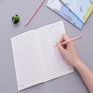 Image 3 - 10 paczek/partia Korea południowa piśmienne małe świeże miękka twarz kopia słodkie 32k linii samochodu A5 Notebook pięć wyboru