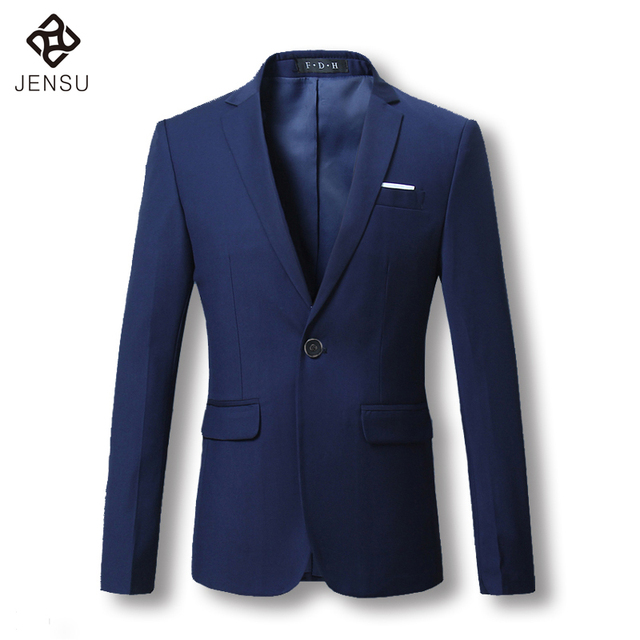 2016 Men Suit Jackets Blazers Dress Suits Men's Casual Fashion Slim Fit Single Button Style Large Size Men Blazers and Jackets