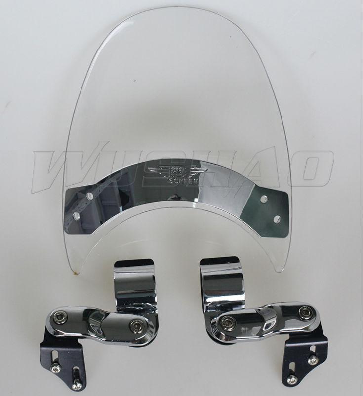 Motorcycle Windshield WindScreen For 1987 2004 Suzuki Intruder 1400 VS1400GLP VS1400GL 800 VS800GL VL800 04 VS
