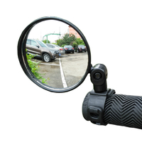 1 Pieces Bicycle Adjustable Rearview Mirror MTB Road Bike Safety Tool Handlebar Back Eye Cycling Rear View Mirrors Accessories