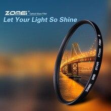 مرشح ZOMEI Star + 4 نقاط + 6 نقاط + 8 نقاط لعدسة كاميرا Canon Nikon DSLR 52/55/58/62/67/72/77 مللي متر