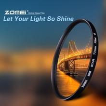 ZOMEI Yıldız filtre + 4 Puan + 6 Puan + 8 Puan Canon Nikon DSLR Kamera Lens için 52/ 55/58/62/67/72/77mm