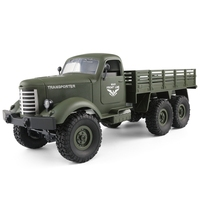 JJRC Q60 RC 1: 16 2.4G Remote Control 6WD Tracked Off Road Army RC Truck RTR wpl toys for children Radio controlled cars