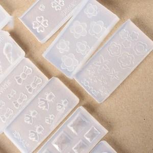 Image 5 - 3D אקריליק עובש עבור נייל אמנות קישוטי DIY עיצוב סיליקון נייל אמנות תבניות תבנית מניקור יופי ציפורניים אמנות Cattie ילדה