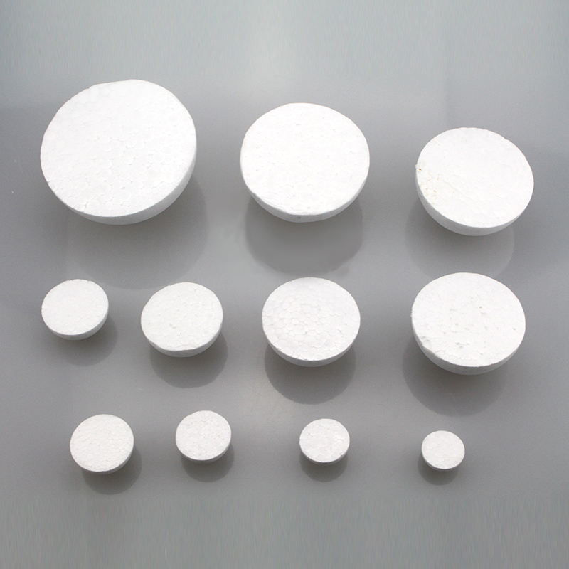 25cm In Diameter White Half Round Solid Polystyrene Styrofoam Foam Ball For Children/kids DIY Handmade Party Wedding Decoration