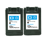 For HP 122 XL Black Compatible Ink Cartridge For HP 122 XL Deskjet 1000 1050 1050A