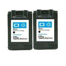 Для HP 122 XL черный картридж Deskjet 1000 1050 1050A 1510 2000 2050 2050A 2540 3000 3050 принтер для hp картридж 122 122 xl