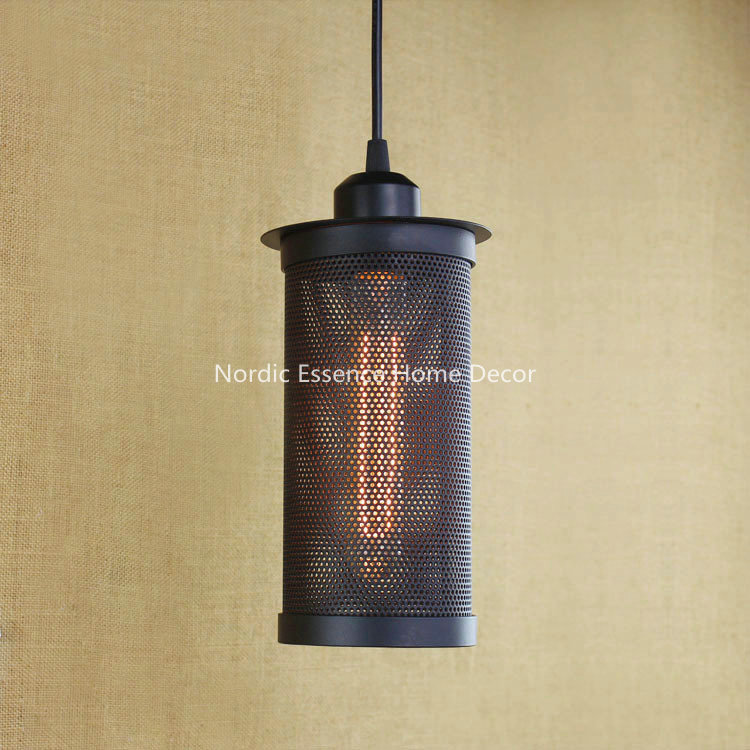 European Loft Nordic creative personality retro chandelier living room restaurant bar shop cafe industry style wrought iron lamp