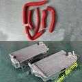 32MM aluminum radiator and silicone hose kit For Honda CR 250 R/CR250R 2000 2001