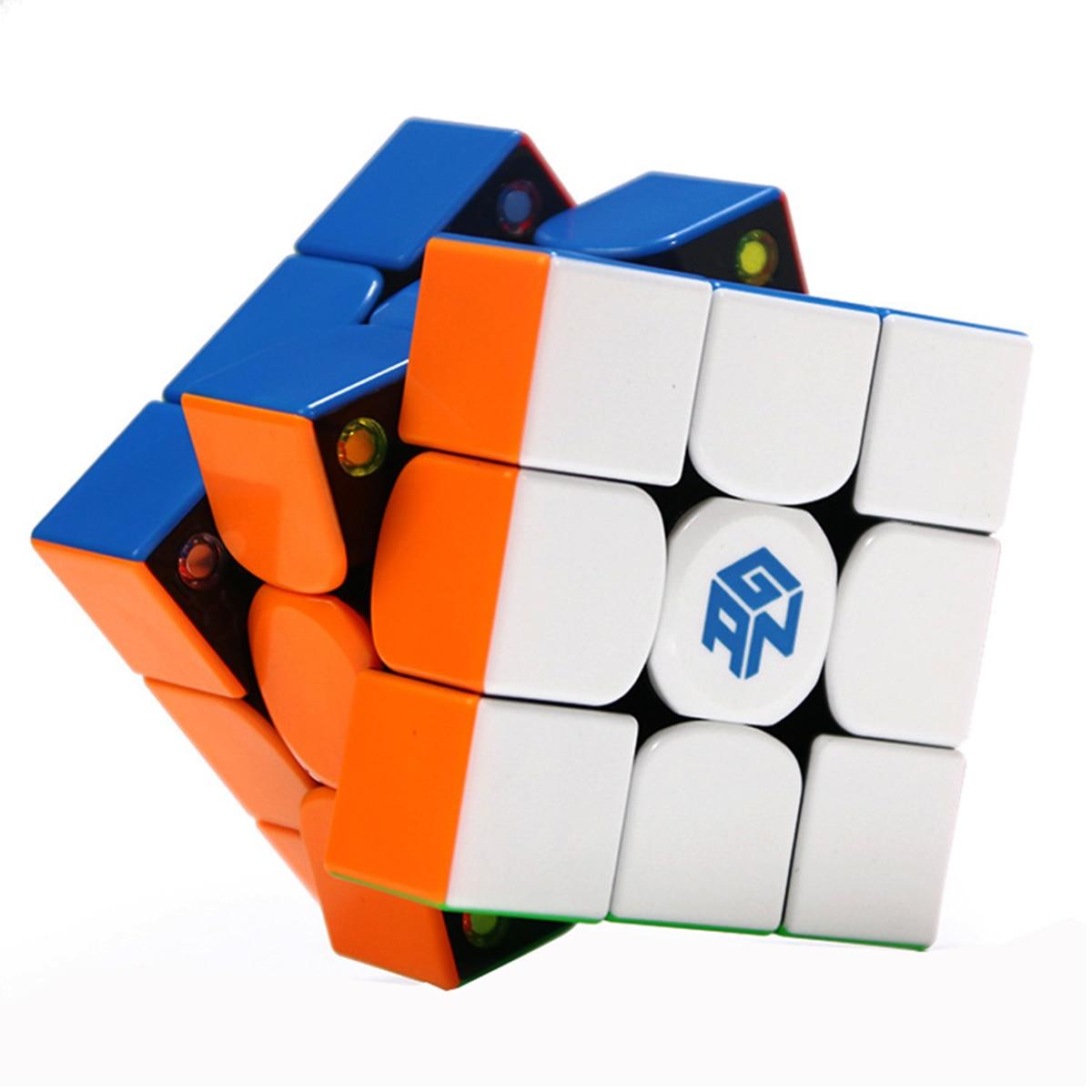 Gan GAN354M 3x3x3 Stickerless Magnétique Gan 354 M Magique Cube Vitesse puzzle Cubes jouets éducatifs Pour Enfants cadeau de noël
