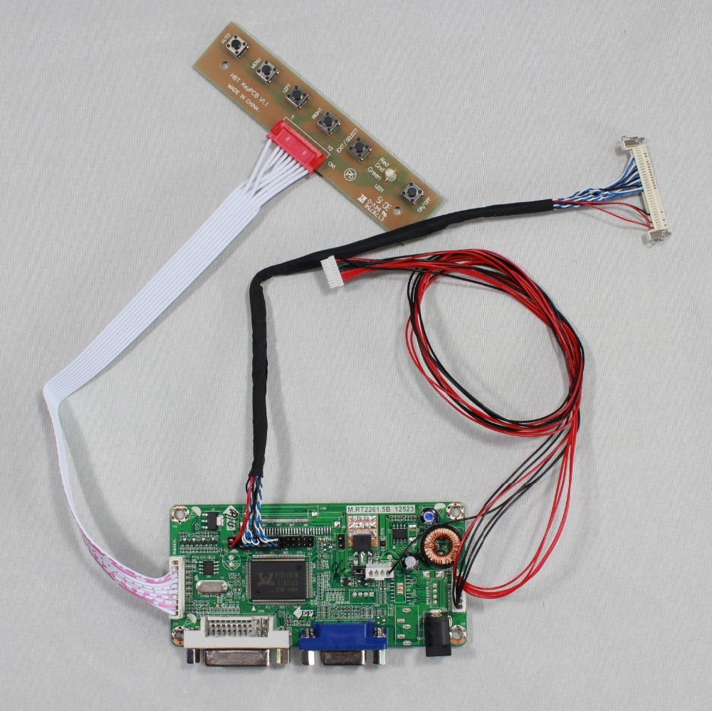 DVI VGA LCD controller board work for 10.4inch G104X1 L04 1024X768 lcd panel r1 sah мойка кухонная бежевый lava