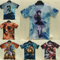 2015 hombres/mujeres camiseta de anime LOL/Dota 2/historieta de la impresión 3d camiseta marca crossfit gimnasio camisetas hombre masculina tee shirts