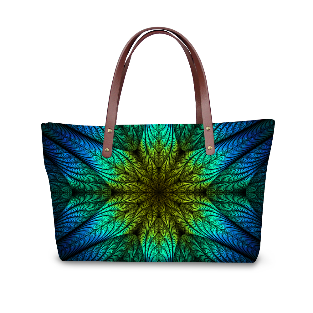 Large Women Handbags Floral Printing Party Purse Vintage Tote Shoulder Bags for Ladies High Quality Flower Shopping Bag Bolsas floral pattern women handbags lash package shoulder bags three piece suit composite large tote bag for ladies