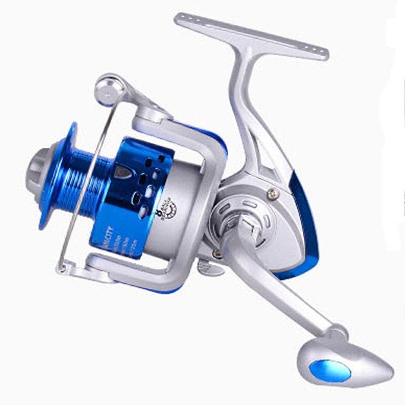 new 8BB pesca beginner plastic fishing reel 5.2:1 Lures wheel CS1000 7000 spinning reel fly reels carretilhas de pescaria