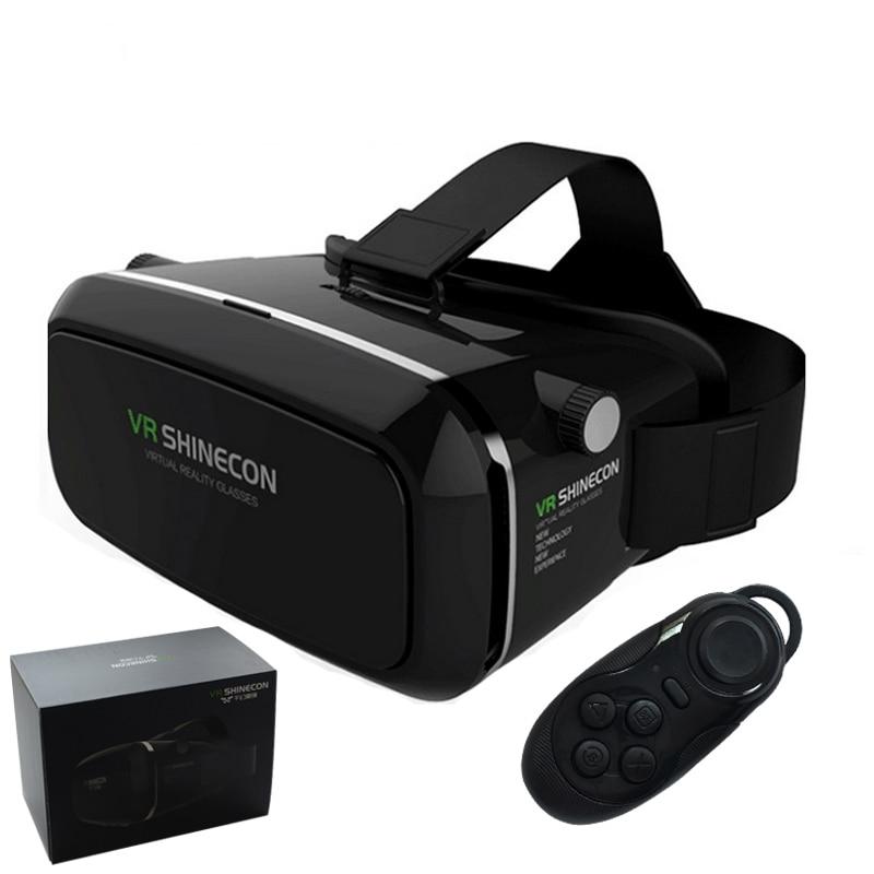 2016 font b VR b font Shinecon Virtual Reality 3D Glasses Oculus Rift google cardboard For