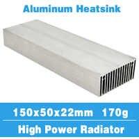 150x50 Kühler Kühlkörper Aluminium-kühlkörper Kühlung Kühler Fit LED Transistor IC Module Power PBC Wärmeableitung für LED-chip