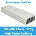 150x50 disipador de calor del radiador disipador de calor de aluminio enfriador de refrigeración ajuste LED Transistor IC módulo potencia PBC disipación de calor para chip LED