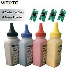 4 X Toner Poeder Reset Chip Voor Fuji Xerox Docuprint CP115w CP116w CP225w CP228w CM115w CM118w CM225fw CM228fw Cartridge Refill