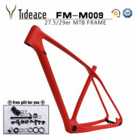 2017 Tideace T800 carbon mtb frame 27.5er/29er mtb carbon frame 29 carbon mountain bike frame 142*12 or 135*9mm bicycle fram