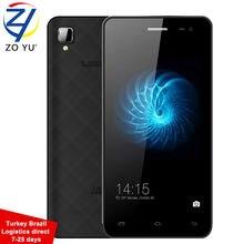 D'origine Smartphone 3G WCDMA Android 4.4 Téléphone Mobile 4.5 HD 1G + 8G MTK6580 Quad Core 5.0 MP Beauté Caméra GPS 1600 mAh Téléphone Portable