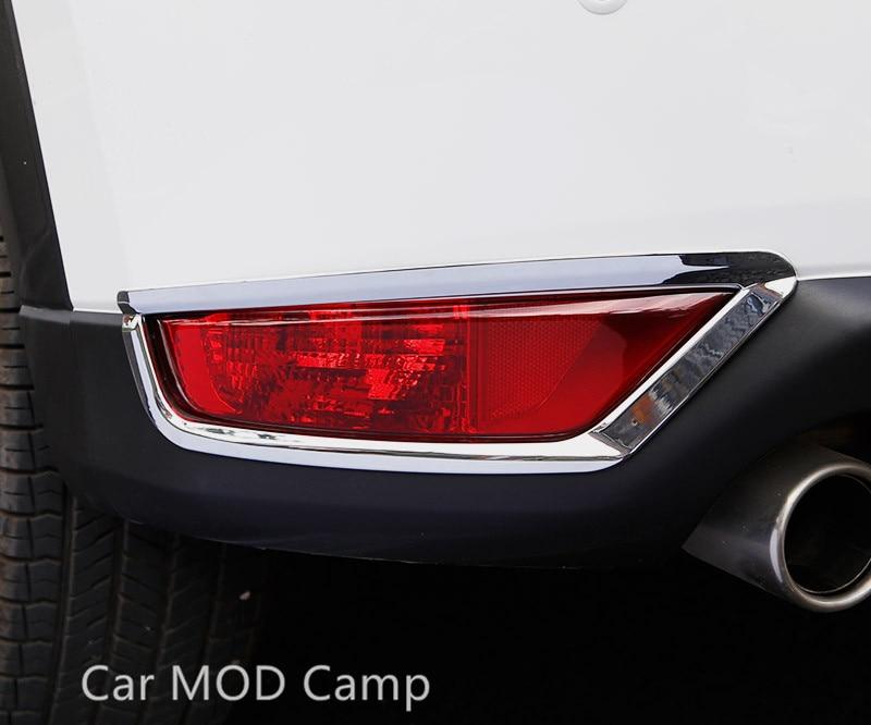 Chrome Rear Fog Light Cover Trim for 2017-2018 Mazda CX-5 CX5