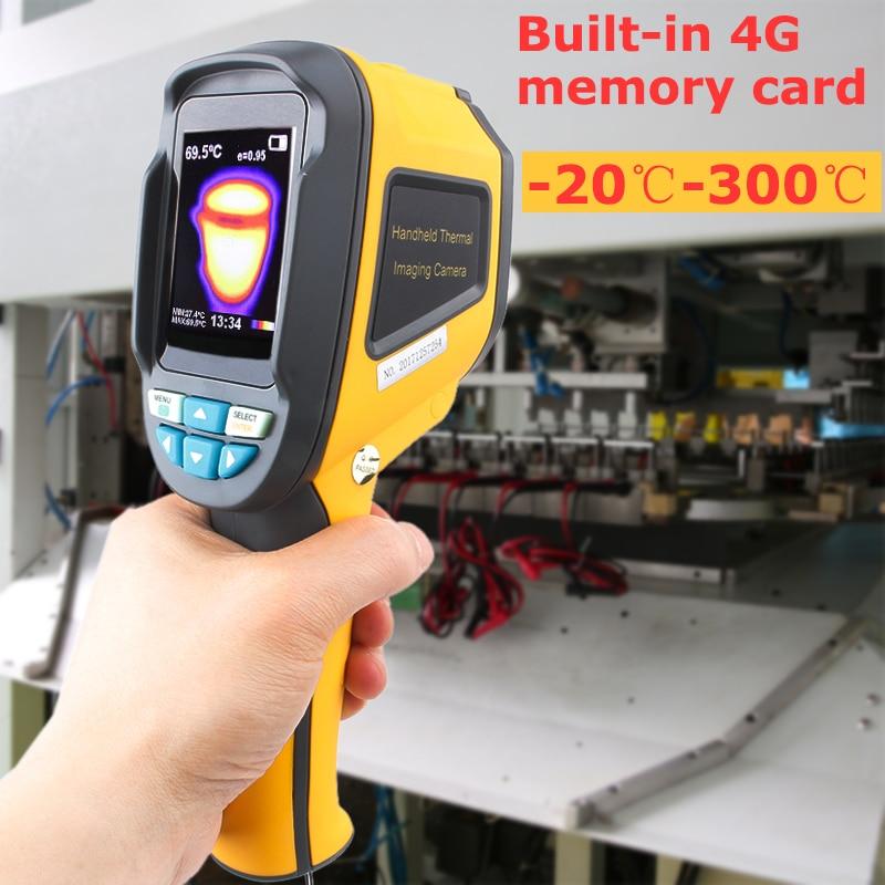 Caméra d'imagerie thermique portative de thermomètre infrarouge-dispositif d'imagerie infrarouge portatif d'imageur thermique infrarouge de 20 à 300 degrés