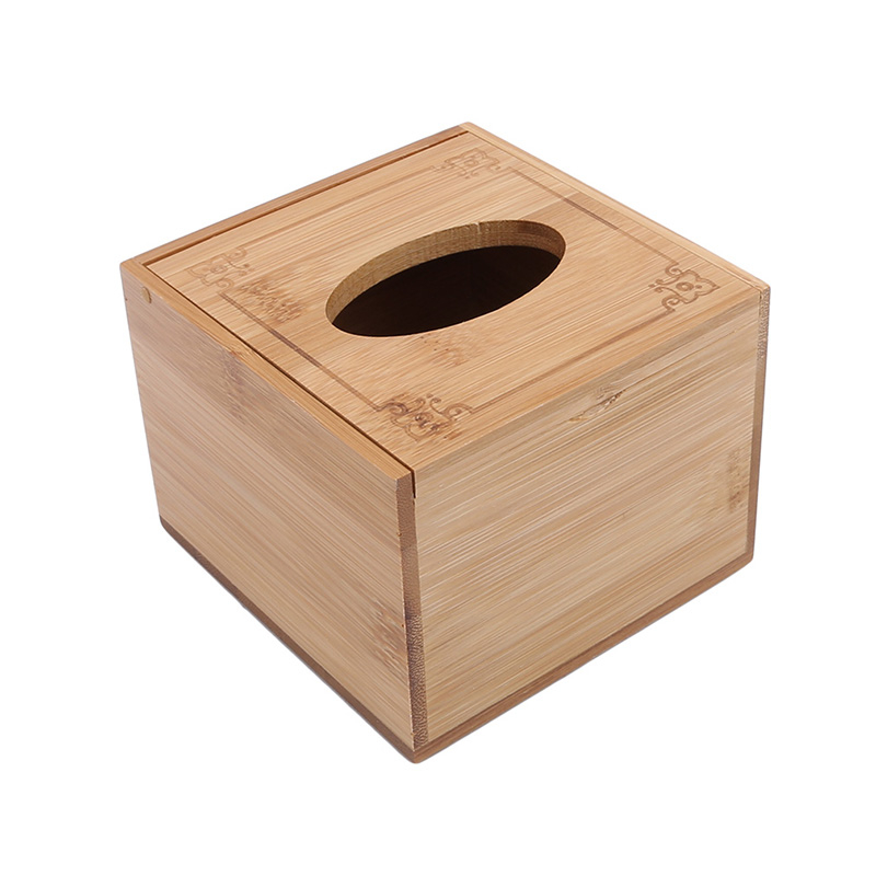 Модный стиль бамбуковая квадратная коробка для салфеток креативный Тип сиденья рулон коробка для хранения бумажная коробка для салфеток экологически чистый деревянный стол Декор - Цвет: s