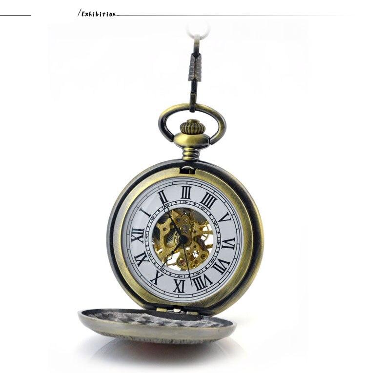 de Bolso Fob Relógios Mens Relógio de