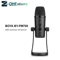 BOYA BY PM700 Professional Condenser Sound Podcast Studio Microphone For PC Laptop Skype MSN karaoke Music Microfon Conferencing