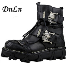 Men's Fashion Ankle Boot Classic Antiskid Wear-resisting Hiking Boots Martin Snow Boots Genuine Leather Winter Shoes Men 20D50 цена