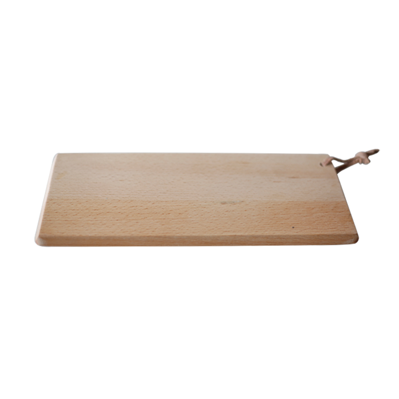 Household Solid Wood Rectangular Chopping Block Fruit Plate Sushi Plate Antibacterial Chopping Block Bread Board Cake Plate