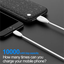 Baseus 10000mAh USB Power Bank 15mm Ultra Slim Powerbank Portable External Battery Charger For iPhone Mobile Phone Poverbank