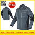 Alta calidad de hombre exterior múltiples bolsillos chaqueta de trabajo de construcción mecánico craftsman constructor envío gratis ropa de trabajo