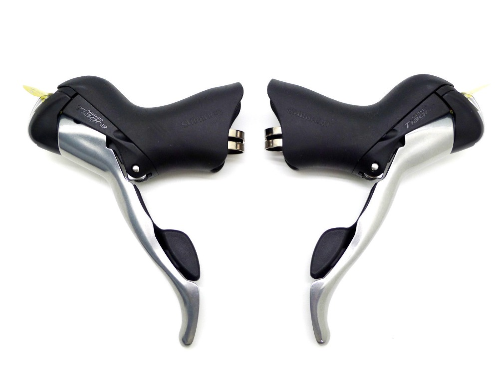 New Shimano <font><b>Tiagra</b></font> ST-4600 ST-4700 2x10 Speed Left & Right STI bike Shifters bicycle Brake Levers image