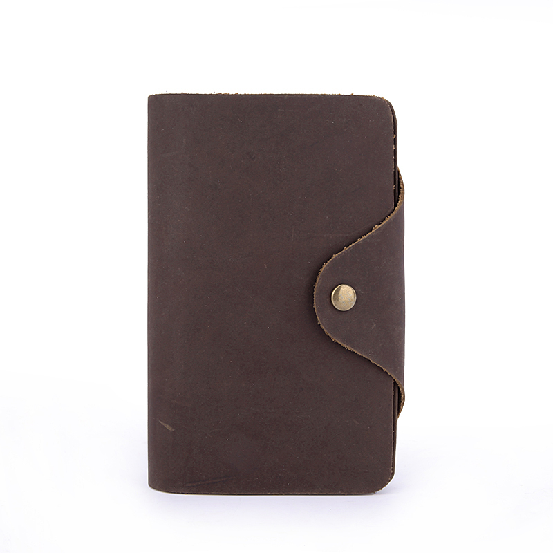 002,Free Shipping Vintage Style Mens Bifold soft Genuine Leather long Billfold Wallet Card Holder Purse ID Credit Card Holder