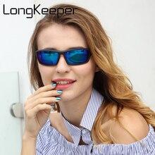 LongKeeper Polarized Sun Glasses Women Cheap Top Quality Female Sunglas
