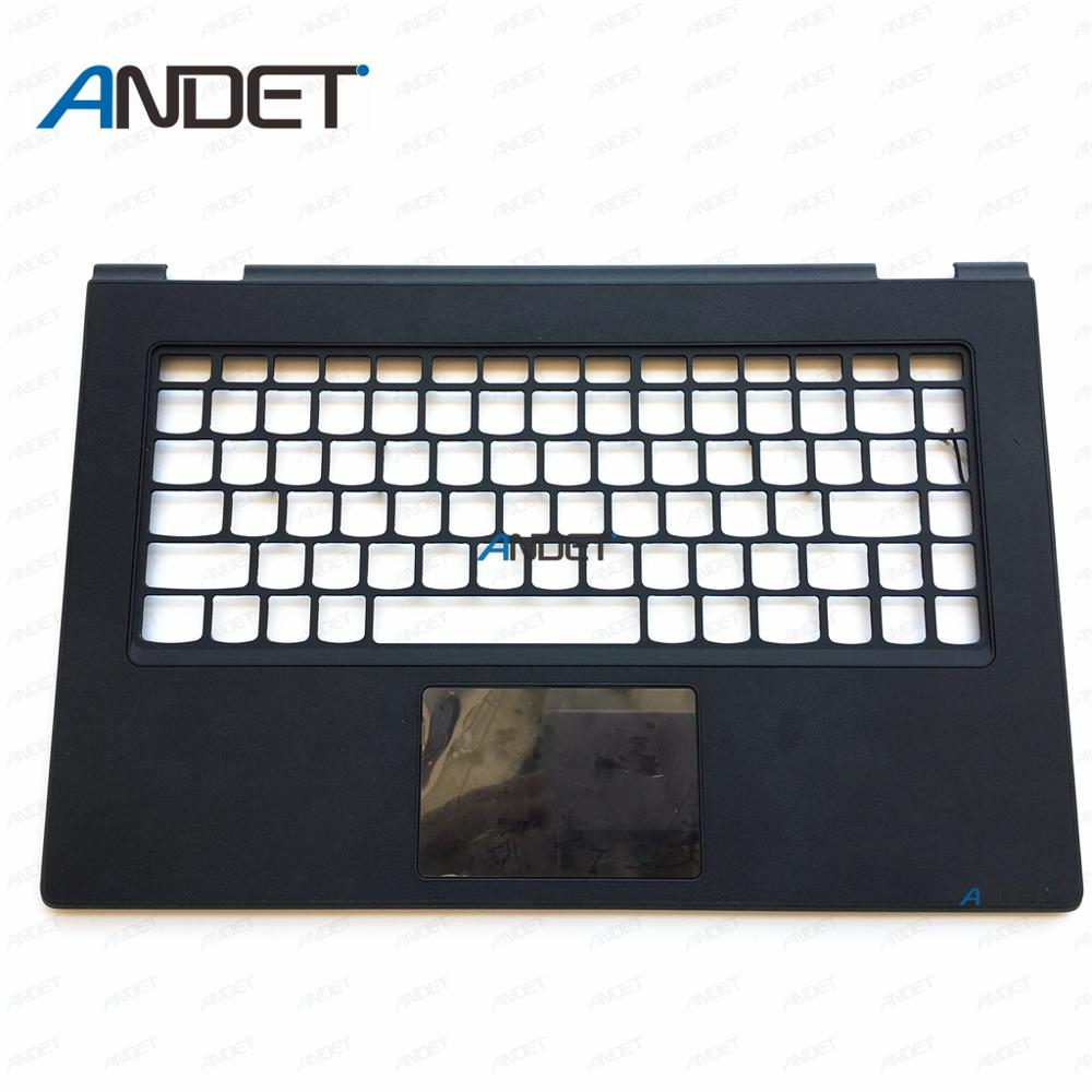 New Original for <font><b>Lenovo</b></font> Ideapad <font><b>Yoga</b></font> <font><b>2</b></font> Pro <font><b>13</b></font> Palmrest C Cover <font><b>Keyboard</b></font> Bezel Upper Case With Touchpad Cable image