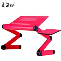 Adjustable Portable Laptop Table Stand Lap Sofa Bed Tray Computer Notebook Desk Bed Table With Mouse