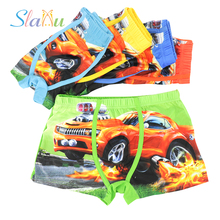 5-Pack So Cool Cartoon Car Kids Boy Underwear for Children Boxer Underpants Briefs Boys Underware Pants for 3-13T