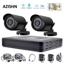 Security camera system HD 4CH CCTV System 1080P HDMI AHD DVR 2PCS 720P/1080P AHD Cameras CCTV IR Outdoor Surveillance system
