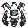 KLX 110 pegatina 3 M calcomanía para bici de la suciedad/pit bike uso