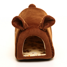 Cute Pet Dog Cat Bed Sofa House Puppy Small Dog Beds House Comfortable Warm For Dogs Perros Casa Cama Perro Chien 081