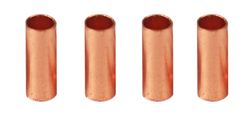 Size : ID 8mm No logo 1pcs 6mm-35mm 99.9/% Red Copper Connectors Straight Coupling For Air Condition Copper Piping System